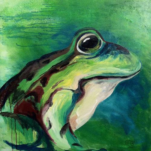 Frosch-groß
