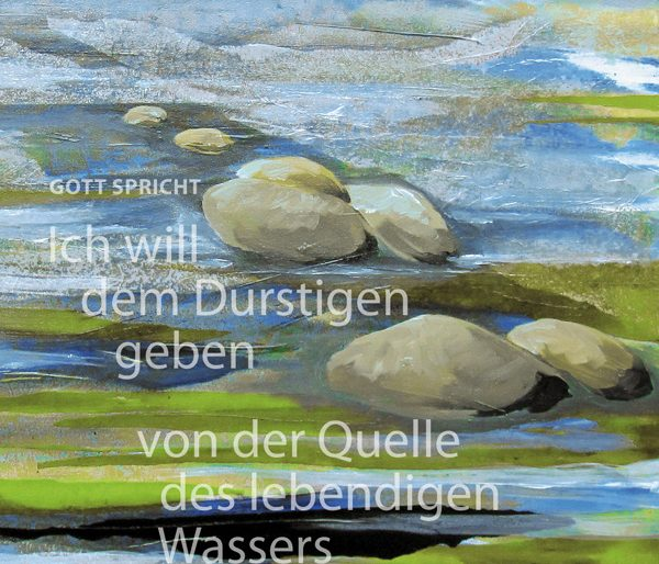 Postkarte zur Jahreslosung 2018 von Elke Bussemeier